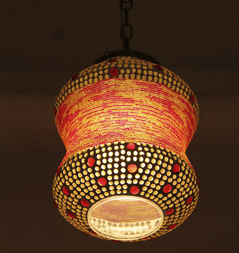 Custom lampshades and lighting from Bhon Bhon, New York